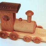 Lesene igrače za igranje z vlaki za otroke